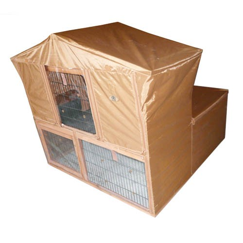 Weather Resistant Rabbit Hutch Cover