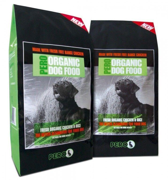 Pero Organic Chicken & Rice Dog Food