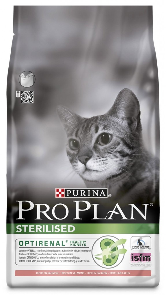 Pro Plan Sterilised Optirenal Salmon & Rice Cat Food