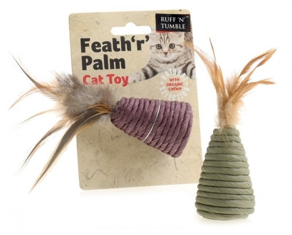 Ruff 'N' Tumble Feath 'R' Palm Cat Toy