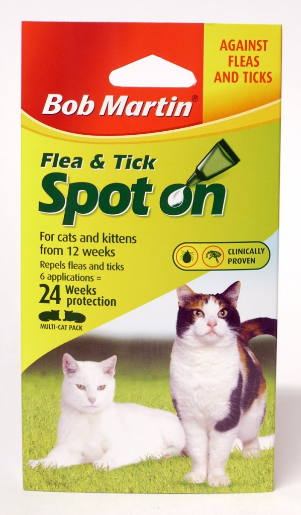 Bm Cat Flea Spot On 24 Weeks Protection