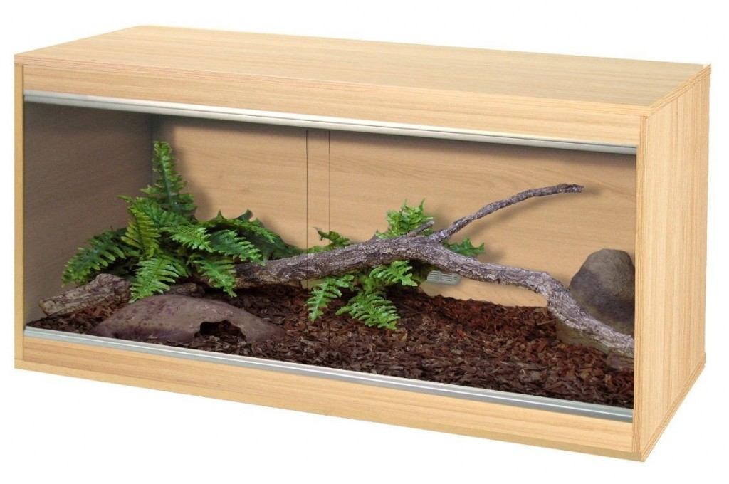 Vivexotic Repti-Home Large Vivarium - Oak