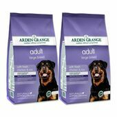 2 x 12kg Arden Grange Adult Large Breed Fresh Chicken & Rice Dry Dog Food Multibuy