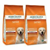 2 x 12kg Arden Grange Senior Chicken & Rice Dry Dog Food Multibuy