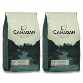 2 x 12kg Canagan Scottish Salmon Grain-Free Adult Dry Dog Food Multibuy