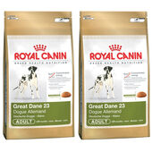 2 x 12kg Royal Canin Great Dane 23 Dry Adult Dog Food