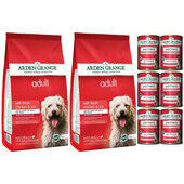 Arden Grange Chicken & Rice Wet & Dry Adult Dog Food Bundle