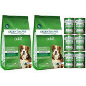 Arden Grange Lamb & Rice Wet & Dry Adult Dog Food Bundle