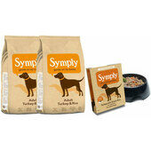 Symply Adult Turkey & Rice Wet & Dry Dog Food Bundle