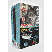1.47kgs - Alpha Spirit Only Fish Semi-moist Complete Dog Food (7x210g)