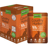 3 x Country Hunter Chicken & Goose Adult Wet Cat Food - 6 x 85g Pouches