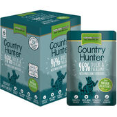 3 x Country Hunter Duck & Pheasant Adult Wet Cat Food - 6 x 85g Pouches
