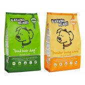 2 x 12kg Barking Heads Tender Loving Care/Bad Hair Day Dry Dog Food