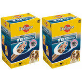 2 x 28 Pedigree Dentastix Daily Medium Breed Dog Treats Multibuy - 56 Sticks