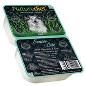 18 x 280g Naturediet Senior / Lite Turkey & Chicken With Vegetables & Rice Wet Dog Food