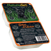 18 x 280g Naturediet Turkey & Chicken With Vegetables & Rice Wet Dog Food