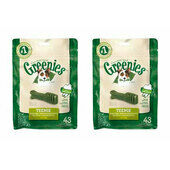2 x 340g Greenies Original Teenie Dog Dental Chews