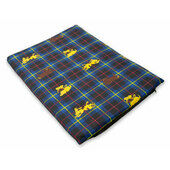 The Pet Express Blue Tartan Dog Mattress