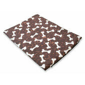 The Pet Express Brown Bones Dog Mattress