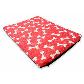 The Pet Express Red Bones Dog Mattress
