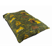 The Pet Express Happy Dog Green Luxury Dog Duvet