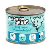 6 x 200g Barking Heads Tiny Paws Fish N Delish Wet Dog Food