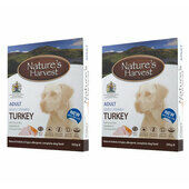 20 x 395g Natures Harvest Adult Turkey
