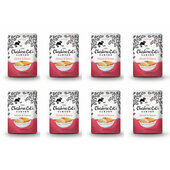 8 x 85g Cheshire Cat's Garden Chicken and Salmon Pouches