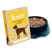 7 x 395g Symply Adult Chicken, Brown Rice & Veg Wet Dog Food