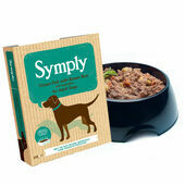 7 x 395g Symply Adult Ocean Fish with Brown Rice & Veg Wet Dog Food