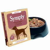 28 x 395g Symply Adult Duck and Turkey with Sweet Potato Wet Dog Food