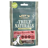 8 x 40g Lily's Kitchen Truly Naturals Little Liver Rewards Dog Treats