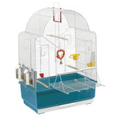 Ferplast Ibiza Open Bird Cage White 49x30x69cm