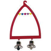 Pa 4058 Swing With Bells 9.5x14cm
