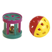 Pa 5202 Ball/cylinder Cat Toy Mixed Colours