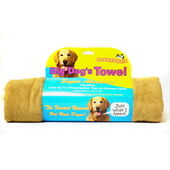 3 x Snugglesafe Micro Fibre Big Dog Brown Towel 140x76cm (55x30