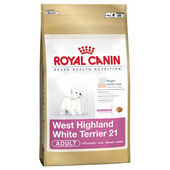 Royal Canin Dog West Highland Terrier 21 Adult Dry Dog Food (+10 Months) 1.5kg