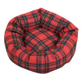 Danish Design Royal Stewart Tartan Cushion Bed