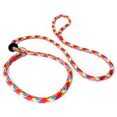 KJK Ropeworks Braided Slip Lead With Rubber Stop Multi 8mm X 150cm