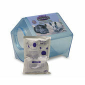 Super Pet Chinchilla Bath House 23x23x21.5cm (9x9x8.5