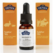 Denes Homeopathy Sulphur Remedy 30c/15ml
