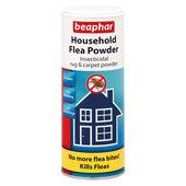 6 x Beaphar Household Flea Powder 300g