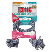Kong Puppy Goodie Bone With Rope X sml