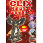 Clix Noises And Sounds Cd For Dogs