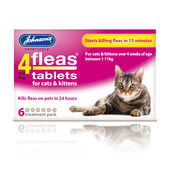 Johnson's 4fleas Cats And Kittens 6 Treatment Pack