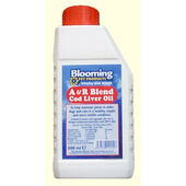 Blooming Pets Dog & Cat A&r Cod Liver Oil 500ml