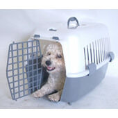 Penine Plastic Pet Dog Carrier With Gate