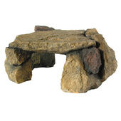 Algarde Ornamental Rock Hiding Den Large 14x28cm