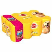 Pedigree Meat Loaf Wet Dog Food Variety Pack