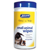 Johnson's Small Animal Cleansing Wipes - 50 Pack